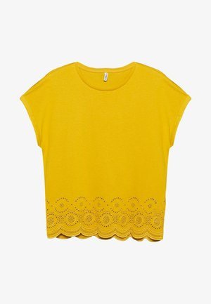 ONLCOSMA LIFE - Print T-shirt - golden spice