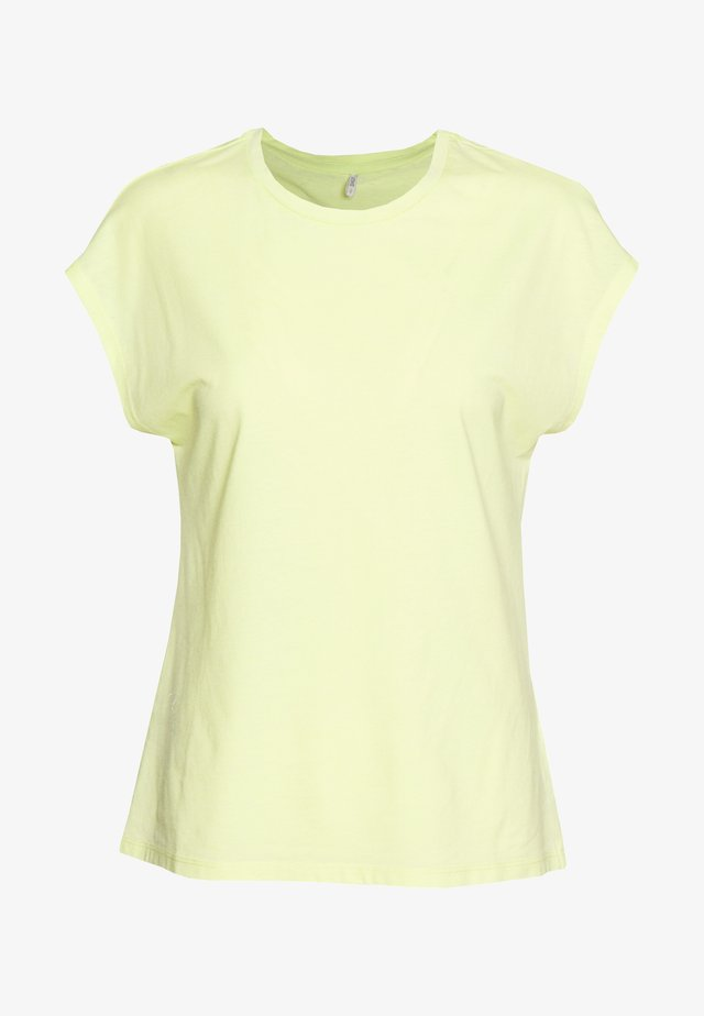 ONLTRULY NEW  - Basic T-shirt - sunny lime