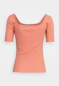ONLY - ONLDAISY LIFE - Camiseta básica - terra cotta - 1