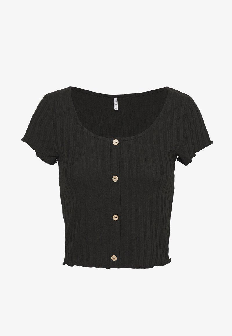 ONLY - ONLDABI - T-shirts - black