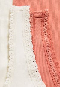 ONLY - ONLDAISY LIFE 2 PACK - Topper - cloud dancer/terraco - 4