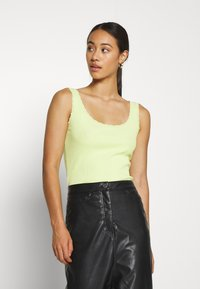 ONLY - ONLDAISY LIFE 2 PACK - Top - black/sunny lime - 1