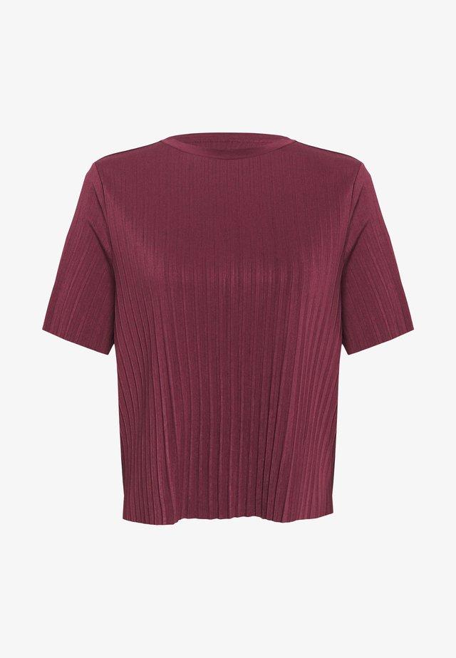 ONLELMA PLISSE - Camiseta básica - fig