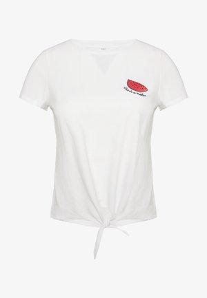 ONLFRUITY LIFE BOX - T-Shirt print - bright white