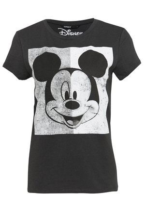 MINNIE FACE  - Printtipaita - dark grey