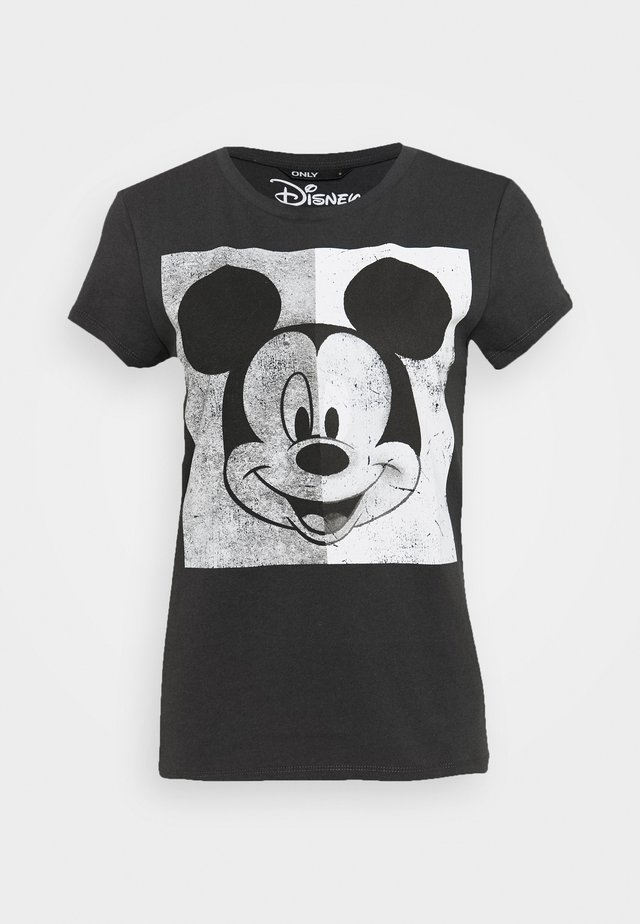 MINNIE FACE  - T-shirt z nadrukiem - dark grey