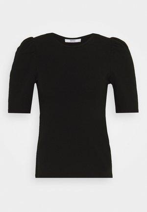 ONLLIVE LOVE PUFF - T-shirts med print - black