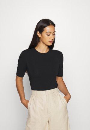ONLLIVE LOVE PUFF - T-shirt basique - black