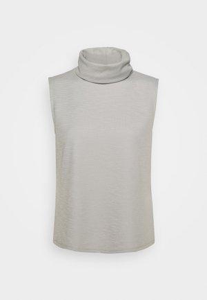 ONLLAYLA HIGHNECK  - Camiseta estampada - light grey melange