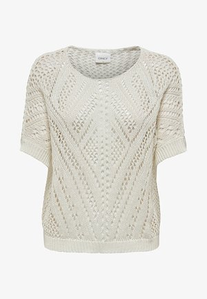 DETAILREICHER - Camiseta estampada - cloud dancer