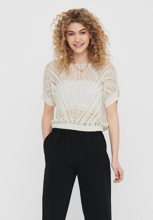 DETAILREICHER - T-shirt imprimé - cloud dancer