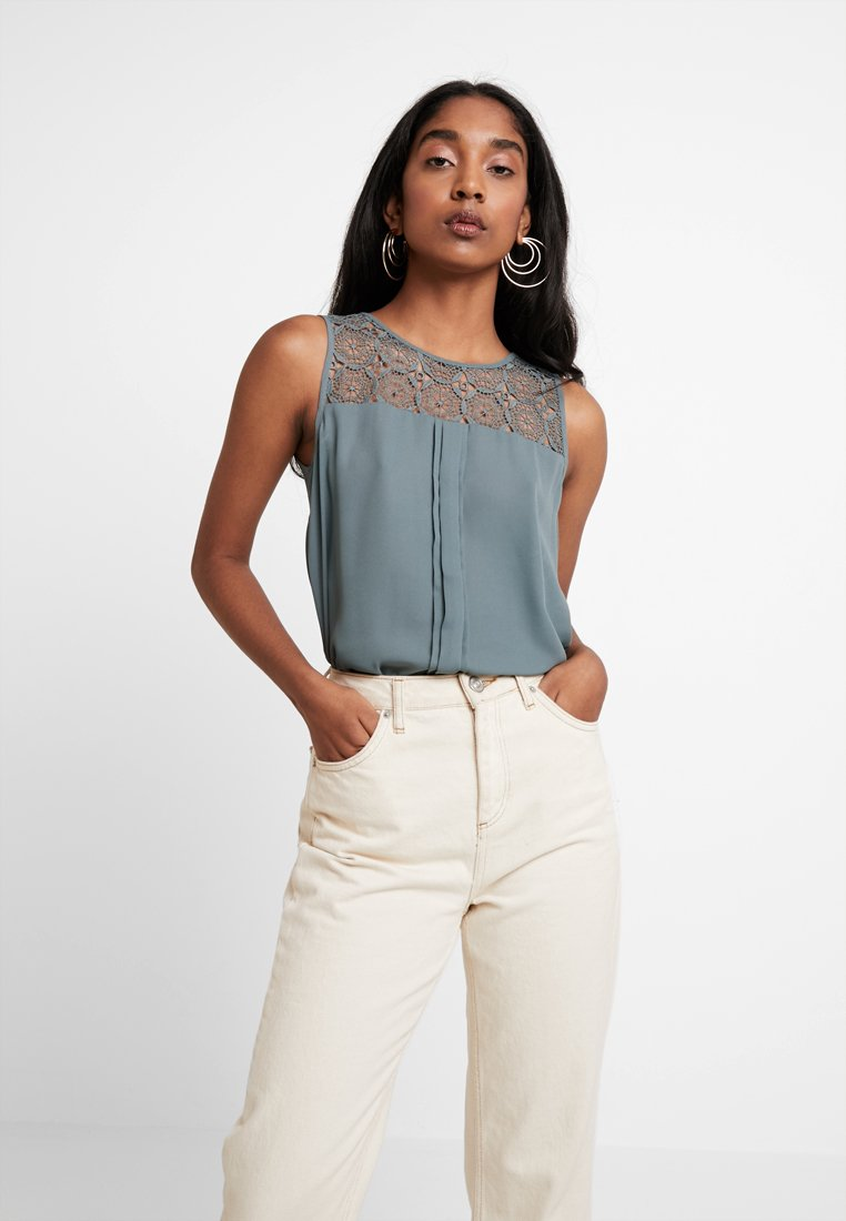 ONLY - ONLVENICE - Bluse - balsam green