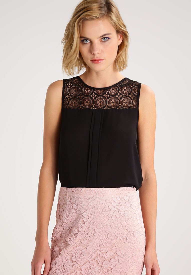 ONLY - ONLVENICE - Blouse - black