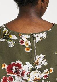 ONLY - ONLVIC - Blouse - kalamata/ditte flower - 5