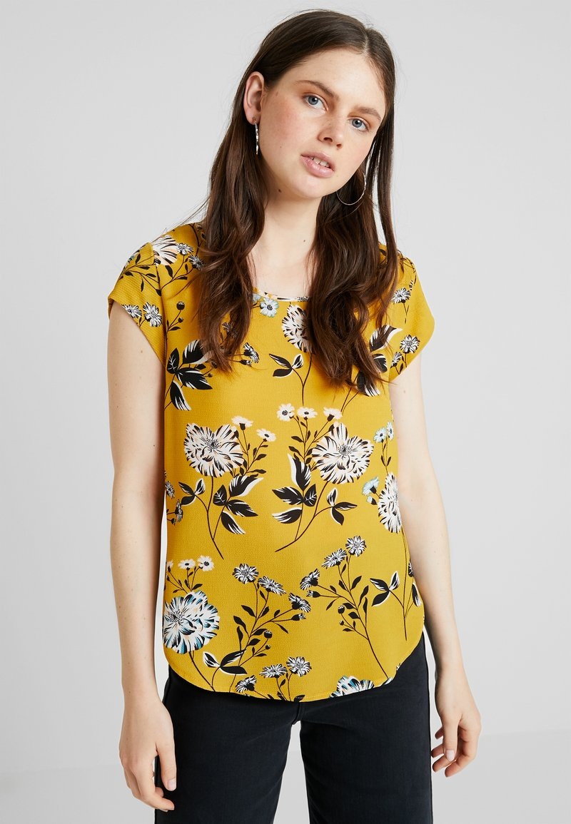 ONLY - ONLVIC  - Bluse - chai tea/yellow