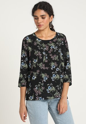 ONLNOVA 3/4 SLEEVE  - Blouse - black/nantong