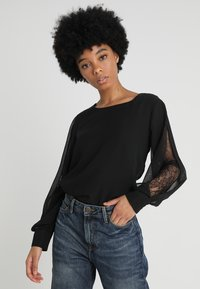 ONLY - ONLLAURA  - Blouse - black - 0