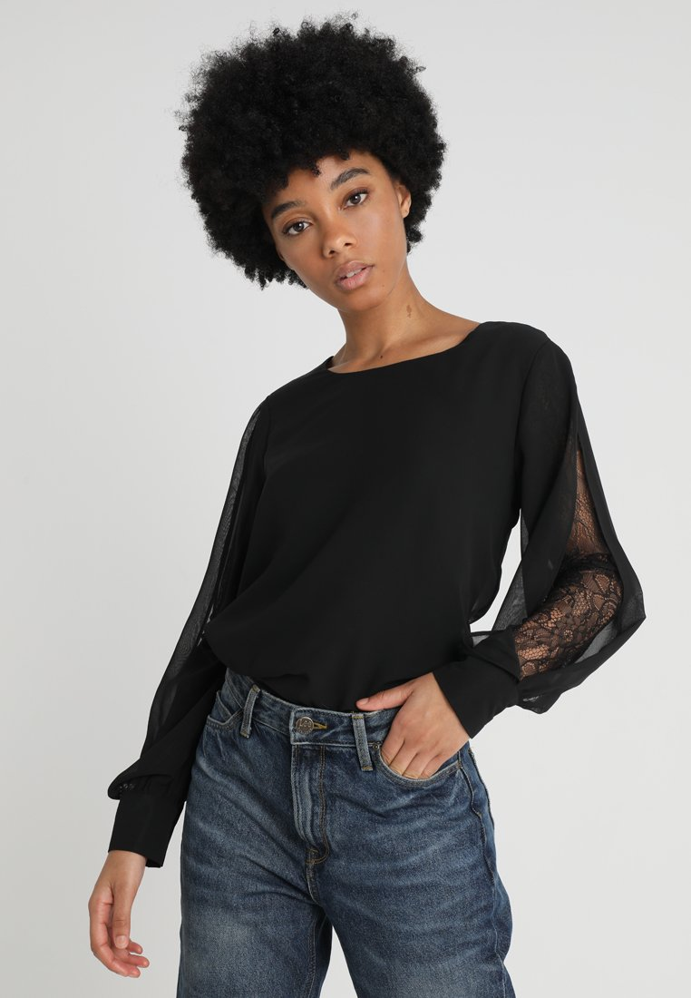 ONLY - ONLLAURA  - Bluse - black