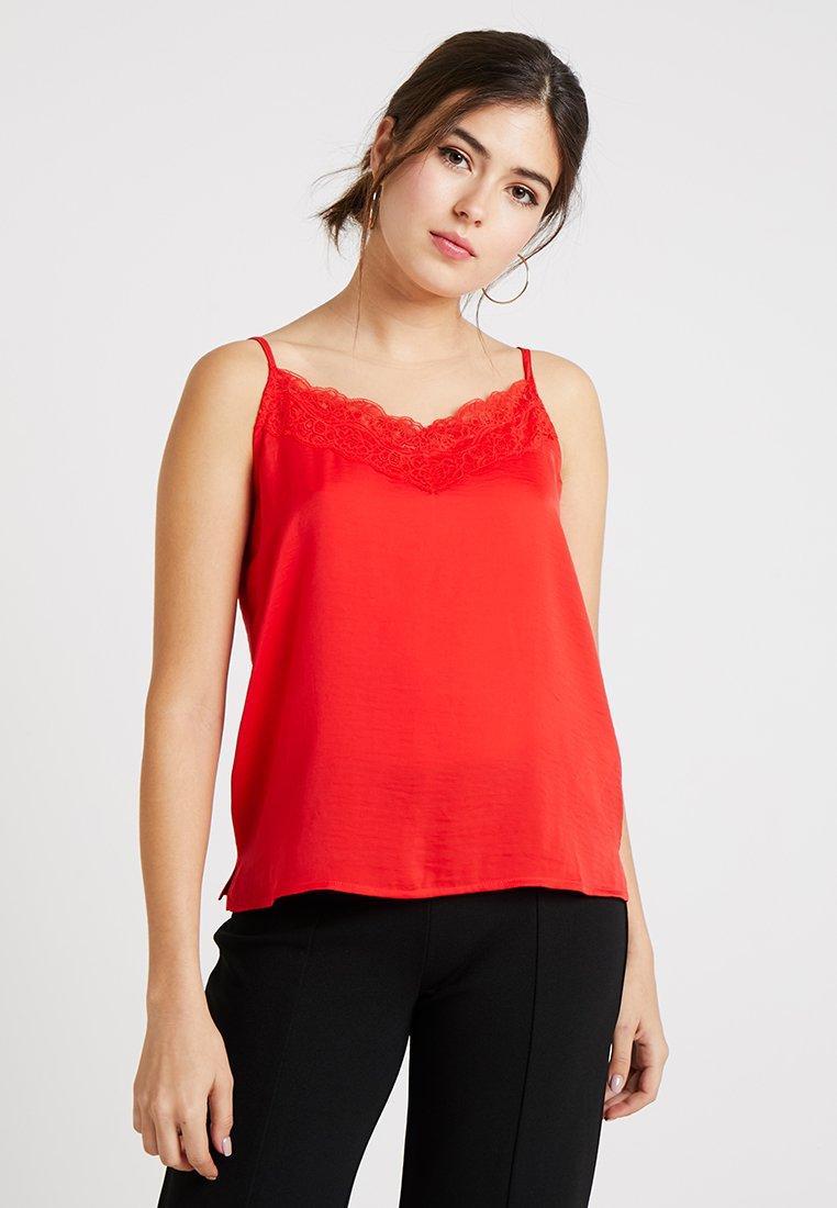 ONLY - ONLDEBBIE SINGLET - Top - flame scarlet