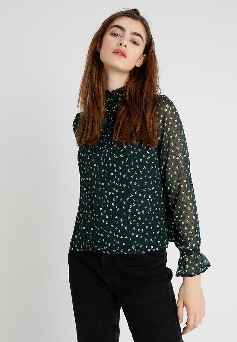 ONLY - ONLKIM TOP - Blouse - green gables/blooming