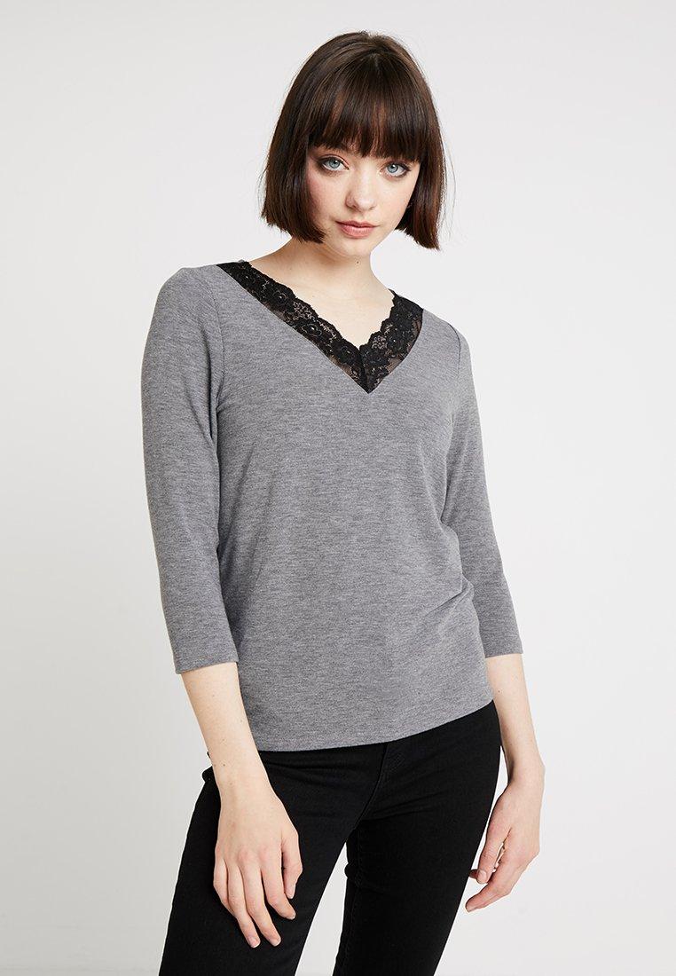 ONLY - ONLGLAMOUR  - Langarmshirt - medium grey melange