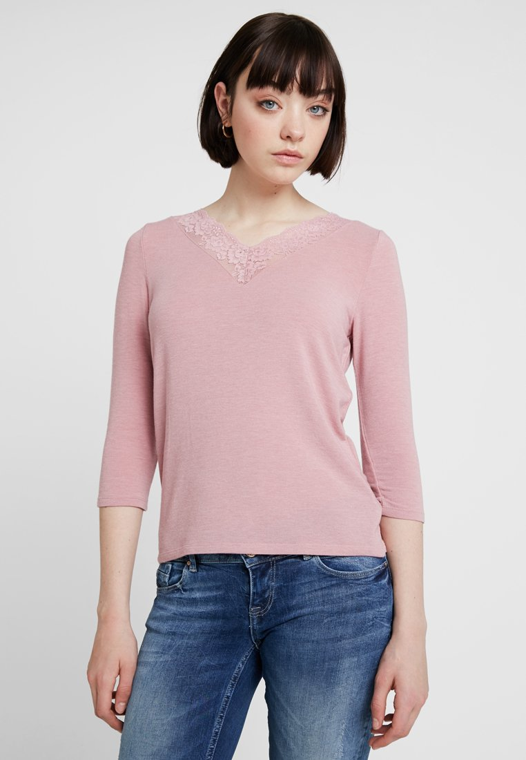 ONLY - ONLGLAMOUR  - Long sleeved top - misty rose