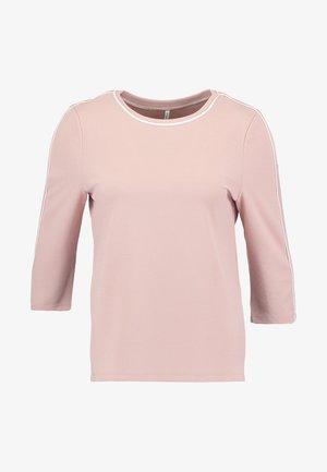 ONLRAMONA 3/4 PIPING - Camiseta de manga larga - misty rose/cloud dancer