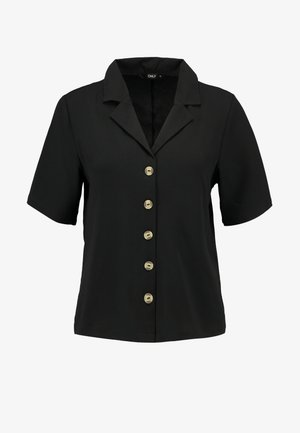 ONLNOVA SOLID BUTTIN TROUGH - Skjorte - black