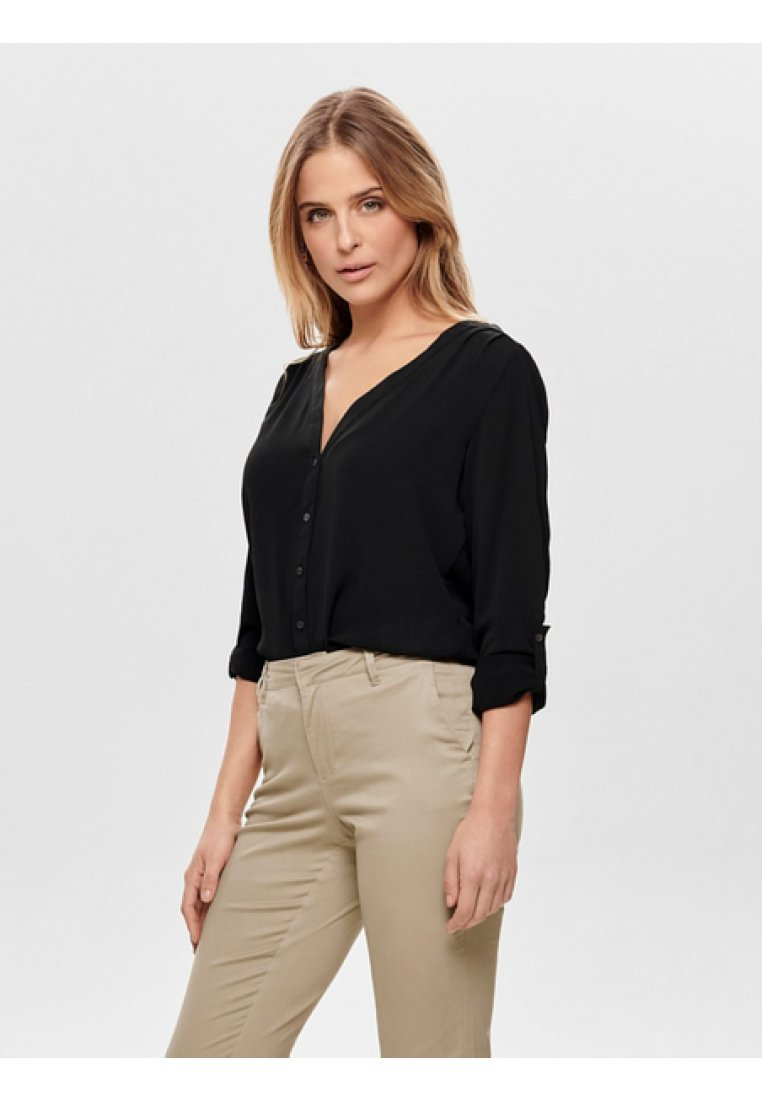 ONLY - Long sleeved top - black