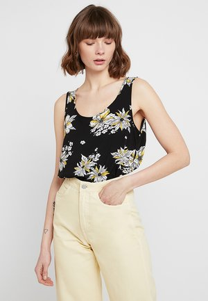 ONLNOVA - Blusa - black/yellow