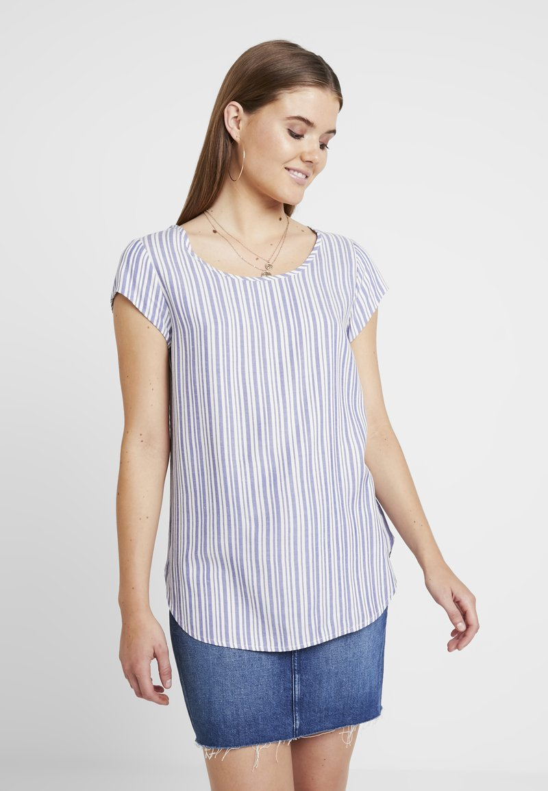 ONLY - ONLSHINE - Blusa - cloud dance/blue