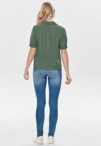 ONLY - Button-down blouse - dark green - 2