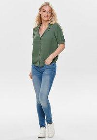 ONLY - Button-down blouse - dark green - 1