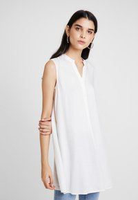 ONLY - ONLNEWFIRST TUNIC - Blůza - cloud dancer - 0