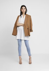 ONLY - ONLNEWFIRST TUNIC - Blůza - cloud dancer - 1