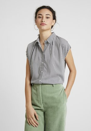 ONLMANDY - Button-down blouse - cloud dancer/black