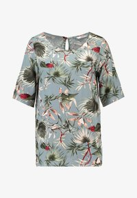ONLY - ONLSALLY - Blouse - balsam green/tropical - 4