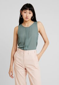 ONLY - CAMILLA DETAIL - Blouse - balsam green - 2