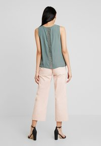 ONLY - CAMILLA DETAIL - Blouse - balsam green - 0