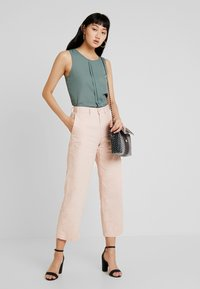 ONLY - CAMILLA DETAIL - Blouse - balsam green - 1