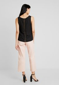 ONLY - CAMILLA DETAIL - Blouse - black - 0