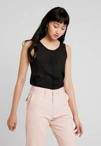 ONLY - CAMILLA DETAIL - Blouse - black - 2