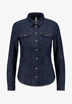 ONLMACE BOX  - Skjorte - dark blue denim