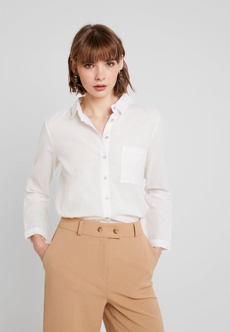 ONLY - ONLBRIGHT - Button-down blouse - cloud dancer