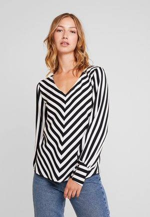 ONLUMA  - Blouse - black/white