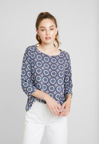 ONLY - ONLNOVA SLEEVE - Blouse - cloud dancer/mono - 0
