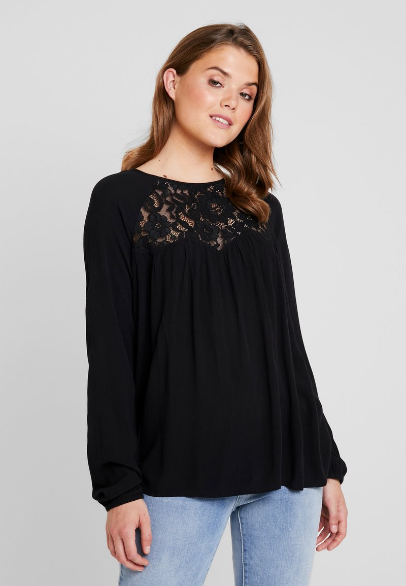 ONLY - ONLARIE MIX - Blouse - black