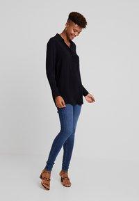 ONLY - ONYNARA - Button-down blouse - black - 1
