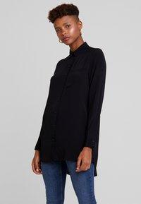 ONLY - ONYNARA - Button-down blouse - black - 0