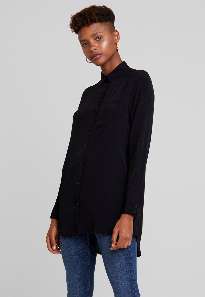 ONLY - ONYNARA - Button-down blouse - black
